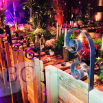 Bespoke tables and chairs for enchanted forest theme