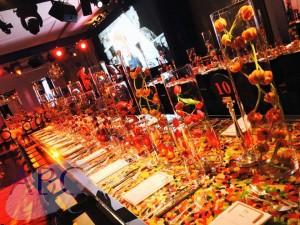 Sweet tables for a Bar-Mitzvah / Bat-Mitzvah in Claridges